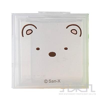 角落組合式收納盒-白熊