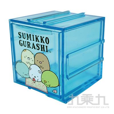 角落小夥伴組合式收納盒-閱讀藍