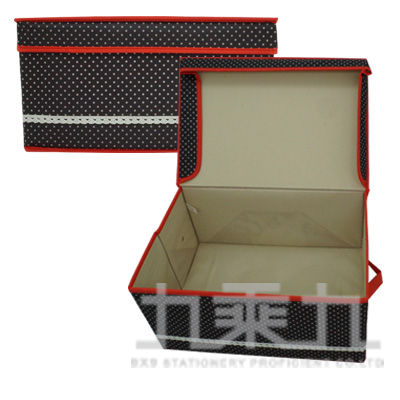 圓點收納箱(中) B-604