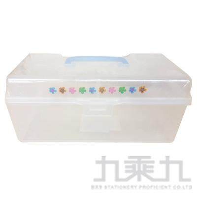 高第手提收納箱-小(藍)