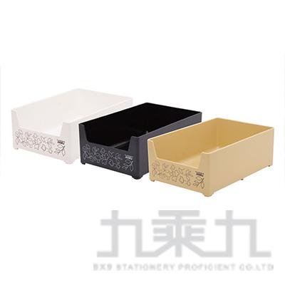 大花輪可疊用置物盒 8327 (顏色隨機)