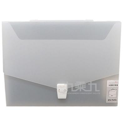 誌揚 PP 半透明(L)手提盒12DC-A4L