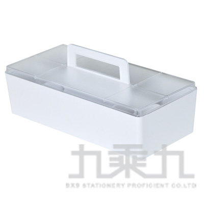 SHUTER 樹德潘朵拉收納盒+上蓋(白) CTB-3215L