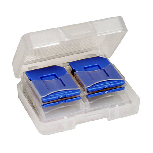DigiStone多功能記憶卡收納盒-炫彩藍(8片裝)