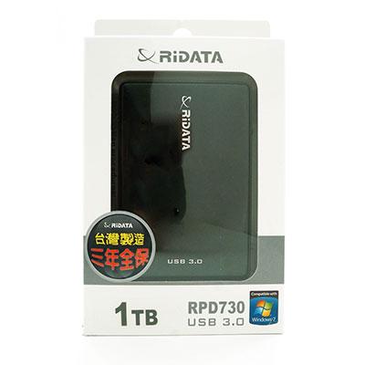 RIDATA行動硬碟730-1TB(黑)