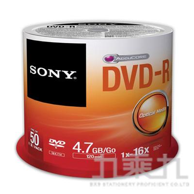 SONY 16xDVD-R 4.7GB(50P布丁桶)  1191