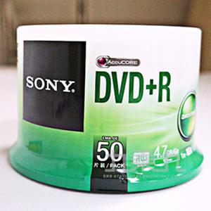 SONY 16xDVD+R 4.7GB(50P布丁桶)  1192