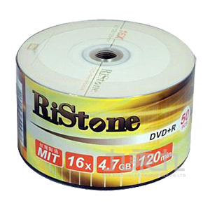 錸德 RiStone 日本版 A+ DVD+R 16X 4.7GB 光碟燒錄片