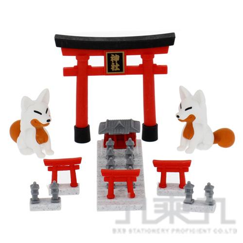 造型橡皮擦(神社) IWAKO:ER-BRI065