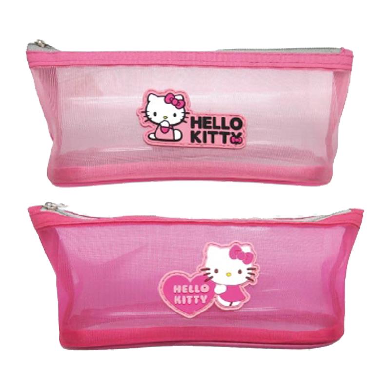 Hello Kitty 滴膠船型網格筆袋 (款式隨機出貨)  197094
