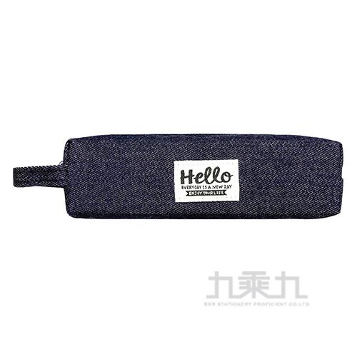 HELLO牛仔方型筆袋A  UECA5401