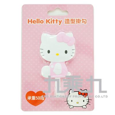 Hello Kitty造型掛勾-坐姿粉 MT-573KT-P