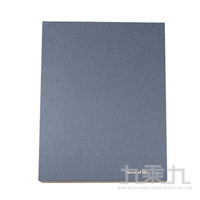A5拾光。橫線簡約筆記本- 舛花藍 OK30251