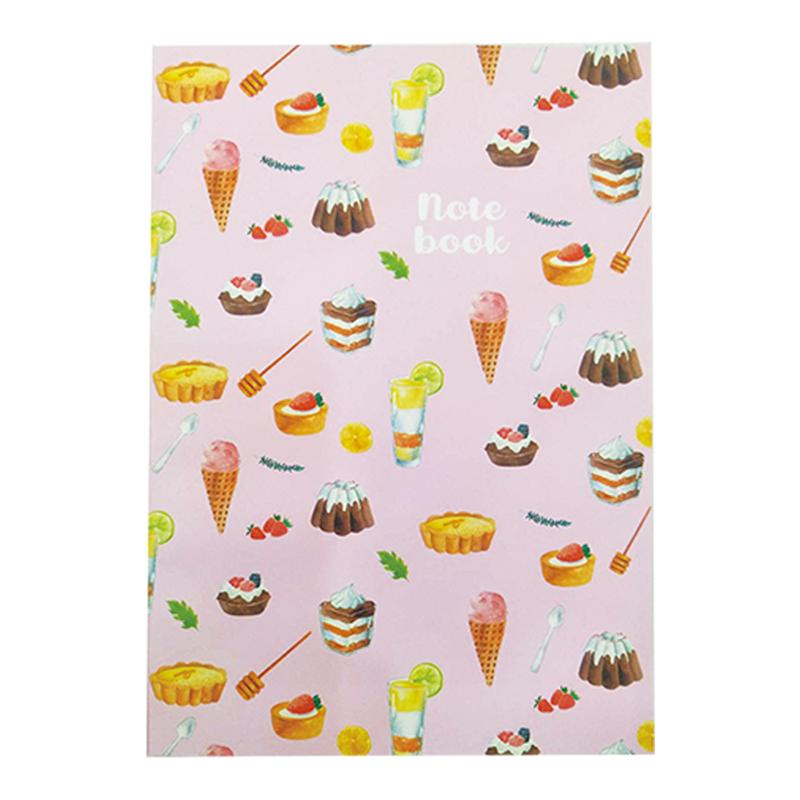 25K線裝可攤平筆記本-幸福甜點-橫線 312503