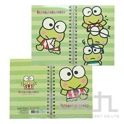 K/R大眼蛙50K雙封面筆記本 187048 (多款隨機)