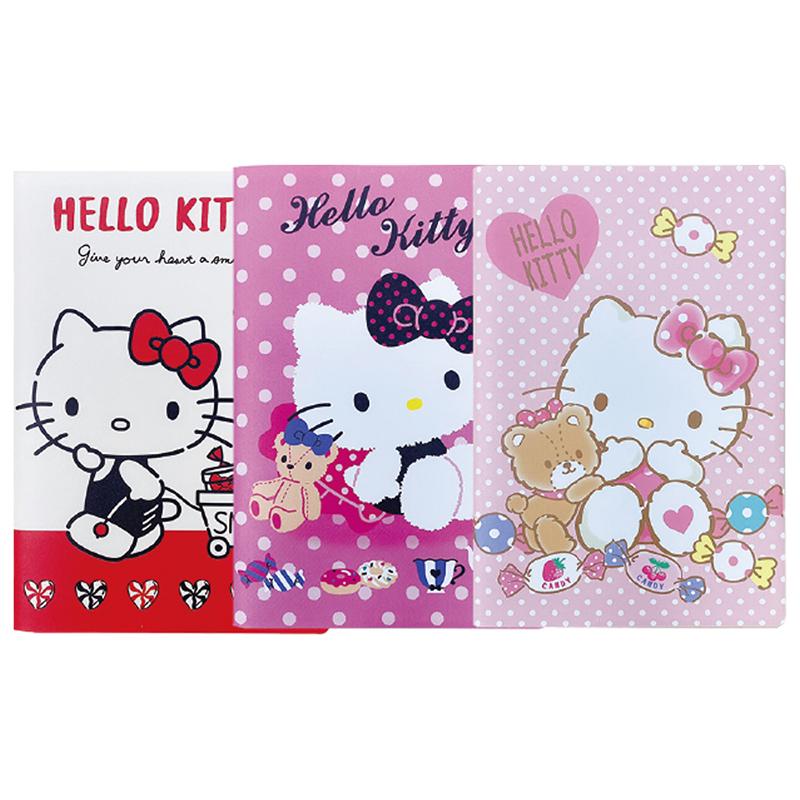 Hello Kitty 25K筆記本+口罩收納套 195852