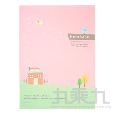 16K平裝筆記小鳥-鄉間粉 AF1075