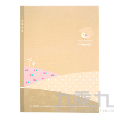 16K平裝筆記小鳥-丘陵米 AF1077