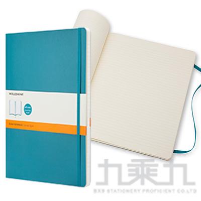MOLESKINE 經典海藍色軟皮筆記本(L) 橫線 ML323630