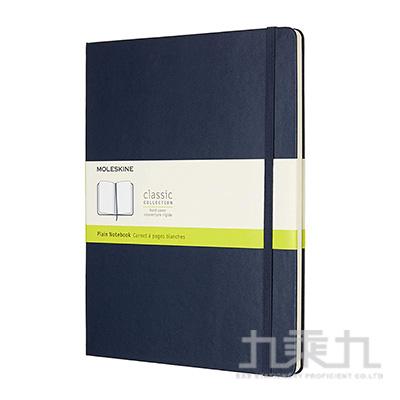 MOLESKINE 經典寶藍色硬殼筆記本-XL型空白 ML855136