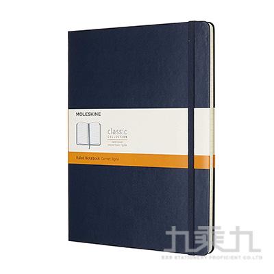 (可燙金) MOLESKINE 經典寶藍色硬殼筆記本-XL型橫線 ML855129