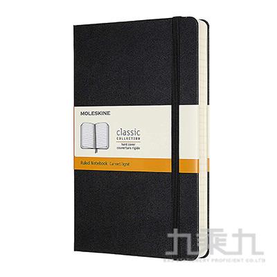 (可燙金) MOLESKINE 經典加量型硬殼筆記本-L型橫線黑 ML628004