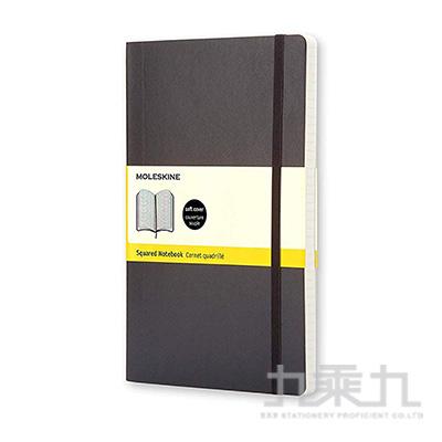 Moleskine 經典黑色軟皮筆記本-口袋型方格 ML707124