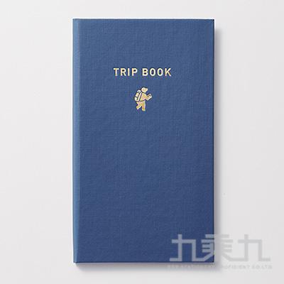 KOKUYO 旅行野帳系列 旅行小熊野帳-深藍