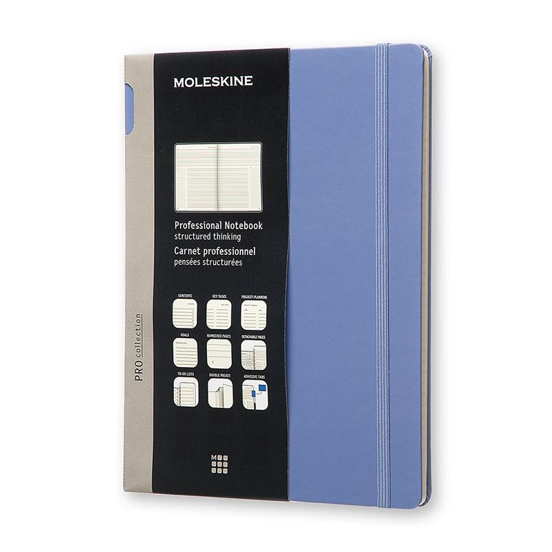 MOLESKINE專業硬殼筆記本XL型-紫
