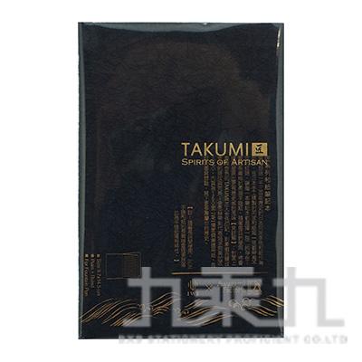 TAKUMI 匠和紙筆記本-A6(金標)/墨 NTGA6-0G