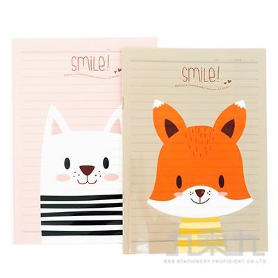 25K微笑動物筆記本 PM25001Z