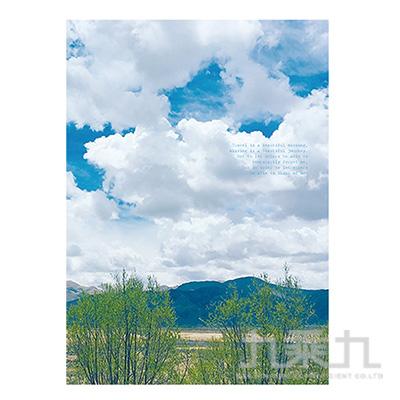 16K定頁筆記本(橫線)-山邊旋律 SS-10025-B06