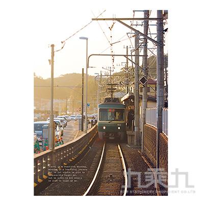 16K定頁筆記本(橫線)-時光旅站 SS-10025-B07
