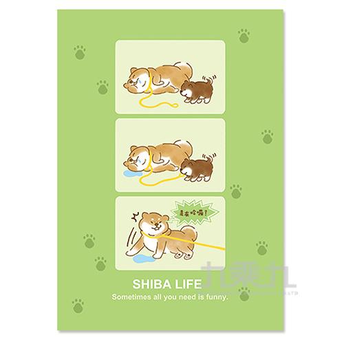 A5定頁筆記(橫線)-酣睡柴犬 SS-15001-04