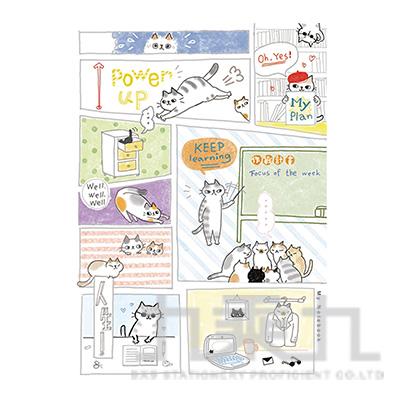 O-Cat貓咪16K定頁筆記-漫畫貓