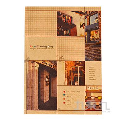攝影牛皮紙25k空白固頁筆記本LW-7820A