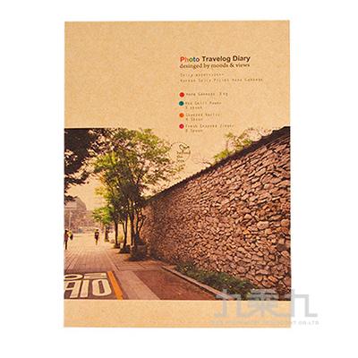 攝影牛皮紙25k空白固頁筆記本LW-7820C