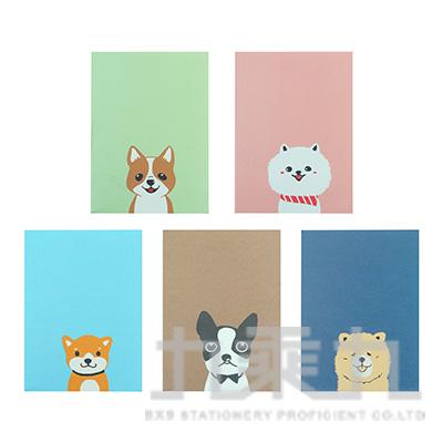 Puppy口袋筆記本 LW-A1115 (多款隨機)