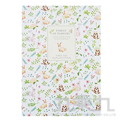 花漾森林16K固頁筆記本(空白)兔子 LW-A1351A