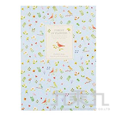 花漾森林16K固頁筆記本(空白)鳥 LW-A1351D