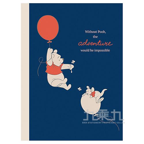 迪士尼16K橫線固頁筆記本-小熊維尼(氣球) LW-A3472D