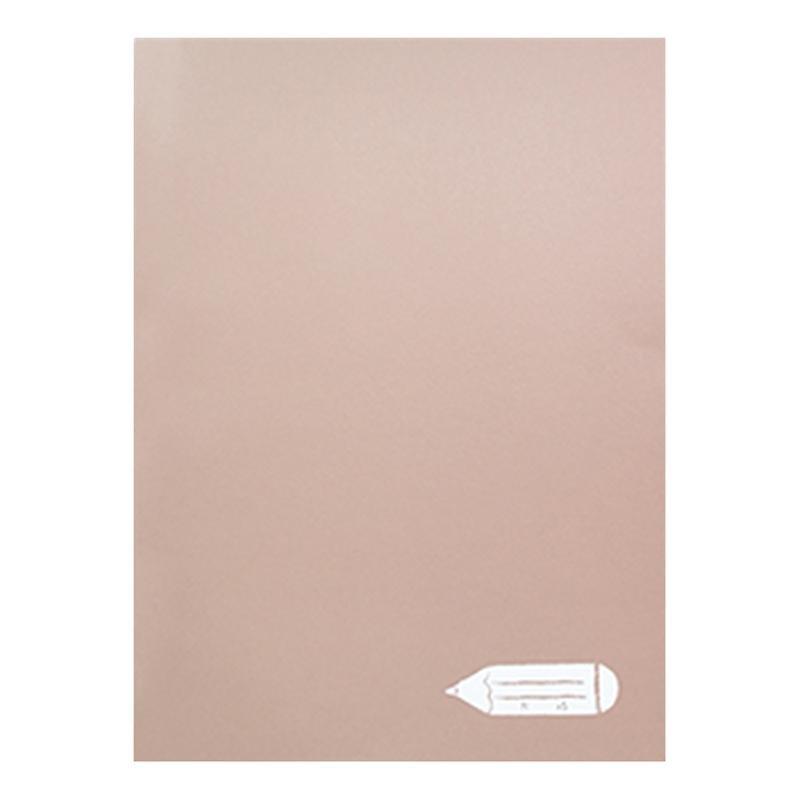 馬卡龍榛果巧克力16K固頁筆記本(大格) LW-A3681A