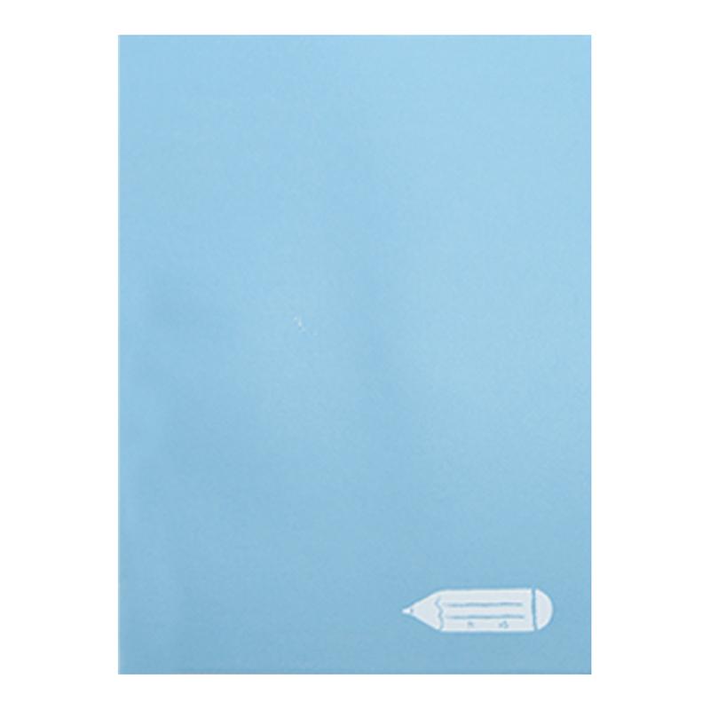 馬卡龍海鹽天藍16K固頁筆記本(大格) LW-A3681C