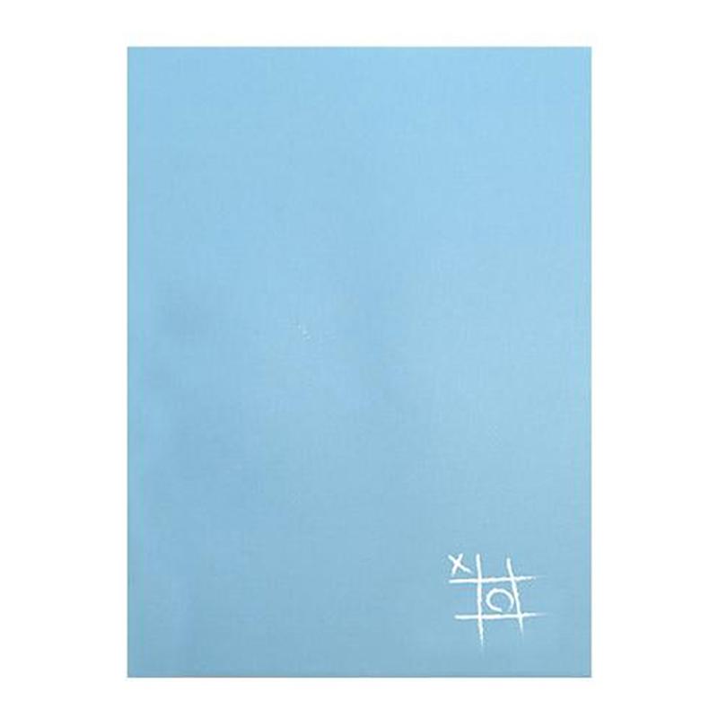 馬卡龍海鹽天藍16K固頁筆記本(方格) LW-A3685C