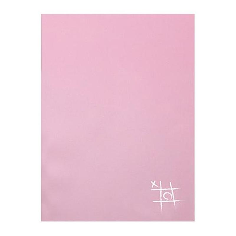 馬卡龍覆盆子玫瑰16K固頁筆記本(方格) LW-A3685D