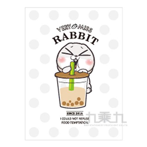 16k東康加厚定頁筆記(珍珠奶茶)-好想兔 CN-16172B