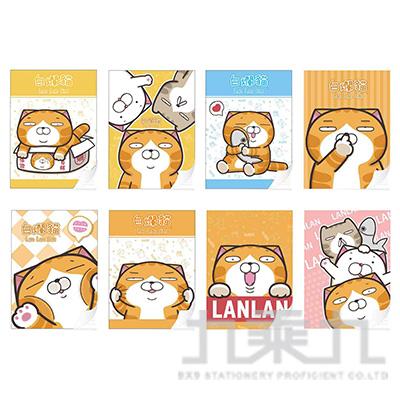 白爛貓16K固頁筆記本 LCPN16-1 (恕不挑款)