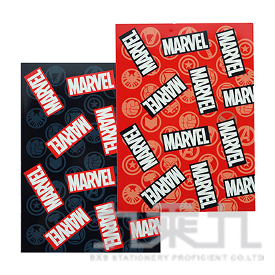 Marvel 16K固頁筆記本(方格) MAPN16-2