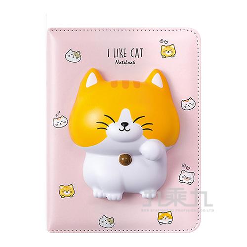貓咪抒壓筆記本 NB-2401