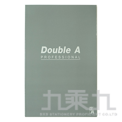 Double A辦公室系列-灰(A5膠裝/40頁) DANB12166